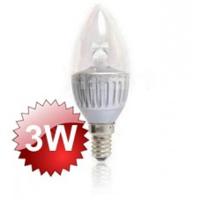 E14 LED Flame Lamp 3W