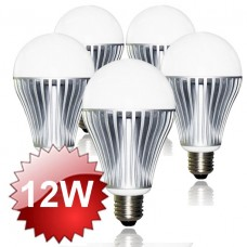 E27 LED Lamp 12W 5-PACK