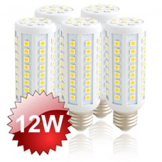 E27 LED Corn Lamp 12W - 5-PACK