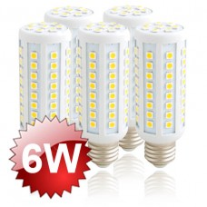 E27 LED Corn Lamp 6W 5-PACK