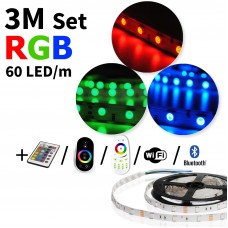 3 meter RGB led strip set - 180 LED