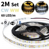 2 meter CW/WW led strip set - 120 LED